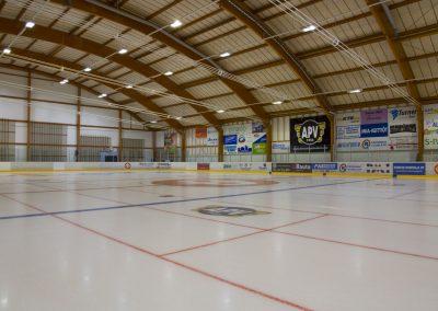 Kuva Alavus Areenan jääkiekkokaukalosta